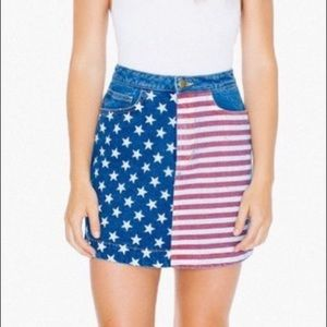 American Apparel American Flag Skirt 🇺🇸